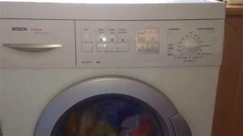 bosch maxx advantage wfx3240 waschmaschine