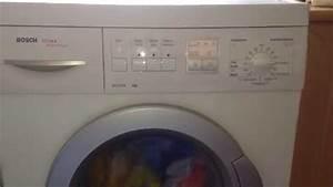 Bosch Waschmaschine Transportsicherung : bosch maxx advantage wfx3240 waschmaschine youtube ~ Frokenaadalensverden.com Haus und Dekorationen