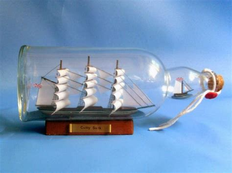 Boat In A Bottle by Cutty Sark Model Ship In Glass Bottle 11 Quot Boat In A