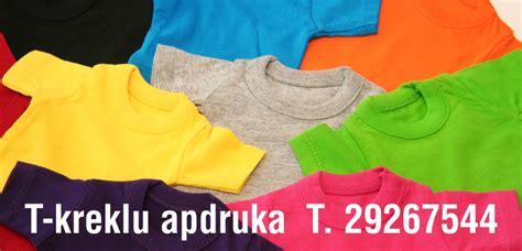 T-krekli, T-kreklu apdruka Rīgā. Atstarojošās vestes