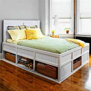 Storage Bed | 27 Ways to Build Your Own Bedroom Furniture ...
