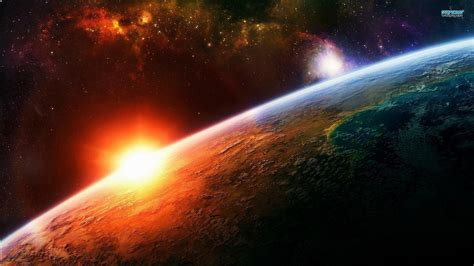wallpapers   sun outer space