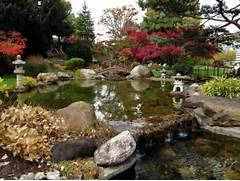 Water Garden Japanese Water Garden Autumn 4102 JPG