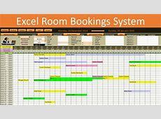 Excel Room Bookings Calendar YouTube