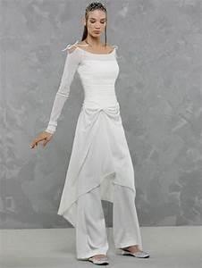 Tenue Mariage Pantalon Et Tunique : pantalon mousseline pour mariage ~ Melissatoandfro.com Idées de Décoration