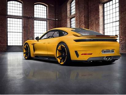 Taycan Porsche Electric Envisioned Powertrain Power Combined