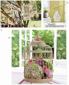 Cage Oiseau Deco : cage oiseaux deco mariage visuel 3 ~ Teatrodelosmanantiales.com Idées de Décoration