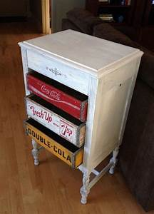 Coca Cola Möbel : coca cola 7 up rc cola soda crate furniture dresser i need but with all coke crates diy ~ Indierocktalk.com Haus und Dekorationen