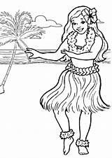 Pages Printable Coloring Hula Dance Colouring Kidspot Moana Luau sketch template