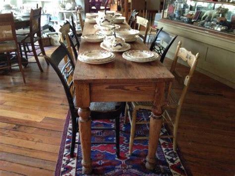 restoration hardware table  natural finish  ways