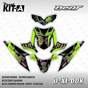 Jual Dekal Stiker Motor Honda Beat Karbu  D