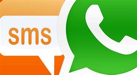 La Morte Degli Sms è Vicina Whatsapp Domina Le Statistiche