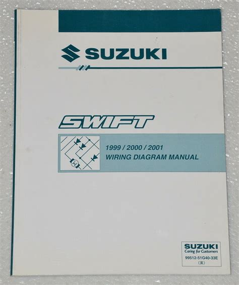 1999 2000 2001 suzuki factory electrical wiring diagrams shop manual ga gl ebay