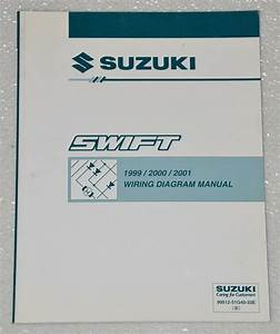 1999 2000 2001 Suzuki Swift Factory Electrical Wiring