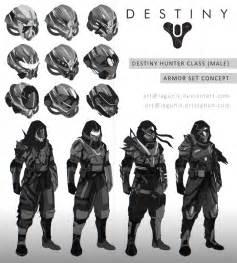 Destiny Concept Sketches (Hunter) by Lagunis on DeviantArt