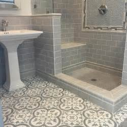 bathroom tiles cheverny blanc encaustic cement wall and floor tile 8 x 8 in your