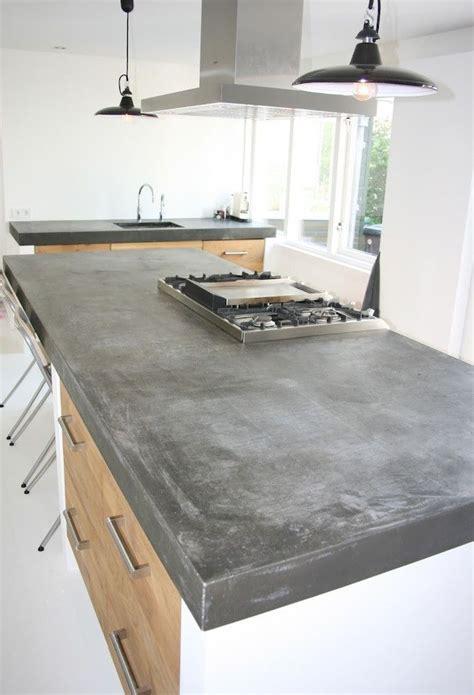 beton pour plan de travail cuisine plan de travail cuisine en 71 photos idées inspirations conseils