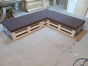 Coussin Palette Pas Cher : 52 id es pour fabriquer votre meuble de jardin en palette ~ Teatrodelosmanantiales.com Idées de Décoration