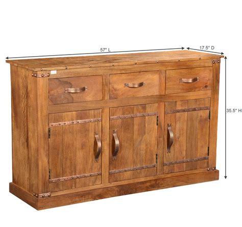 Farmhouse Sideboard by Modern Farmhouse Solid Wood 3 Drawer Rustic Sideboard Cabinet