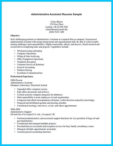 Entry Level Administrative Assistant Resume by Best 25 Administrative Assistant Ideas On