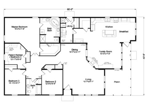 Wide Manufactured Home Floor Plans Oregon by View The Mt Shasta Floor Plan For A 2438 Sq Ft Palm