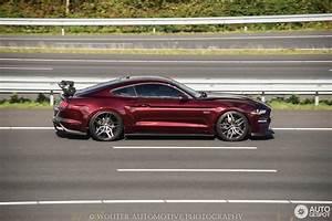 Ford Mustang GT 2018 Royal Crimson GT - 1 October 2018 - Autogespot
