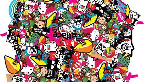 Jdm Sticker Bomb Wallpapers Image Desktop Background