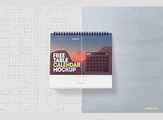 Calendar Mockup Free PSD Download ZippyPixels