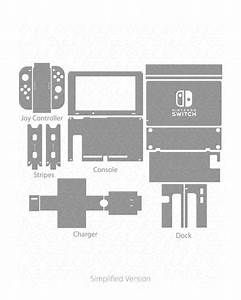 Vinyl Ready Vector Cut File Templates For Gaming Device