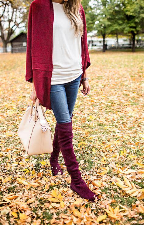 Burgundy Boots | Hello Fashion