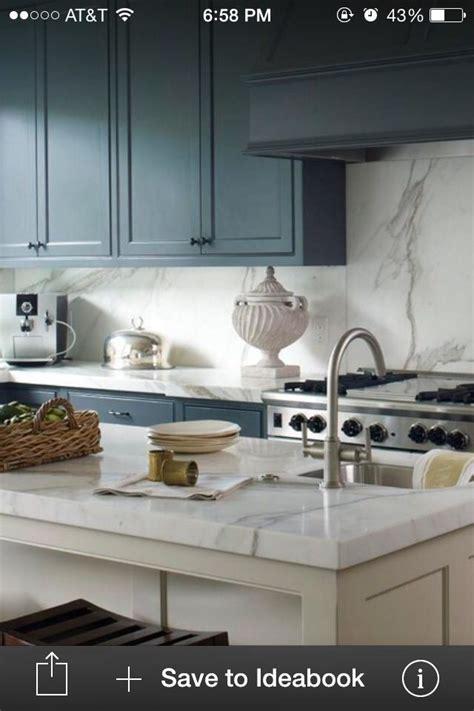 calacatta gold marble countertops  full slab backsplash