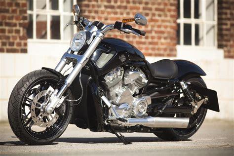Harley-davidson V-rod Muscle Customized By Thunderbike