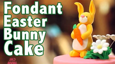 Fondx Rolled Fondant Merah how to make a rolled fondant easter bunny cake cake