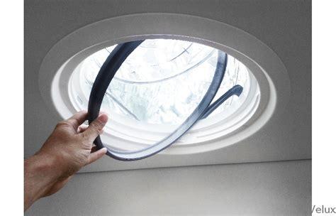 dakvenster velux lichttunnel generatie  voor platte