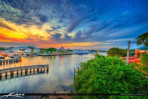 palm gardens sunset riverhouse waterway
