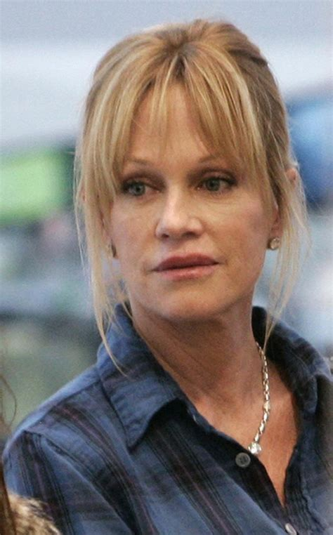 melanie griffith returns  theater  daughters helped