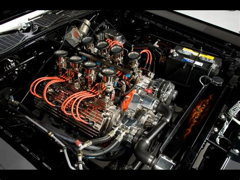 Car Engine Wallpaper by 1971 Dodge Challenger R T Car By Modern