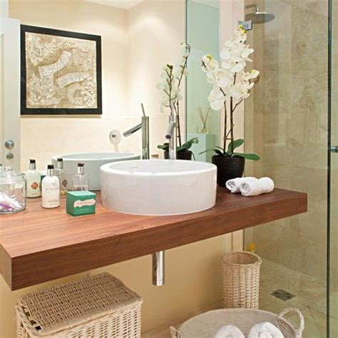 decorating bathroom ideas 20 bathrooms with wooden countertops basin unit
