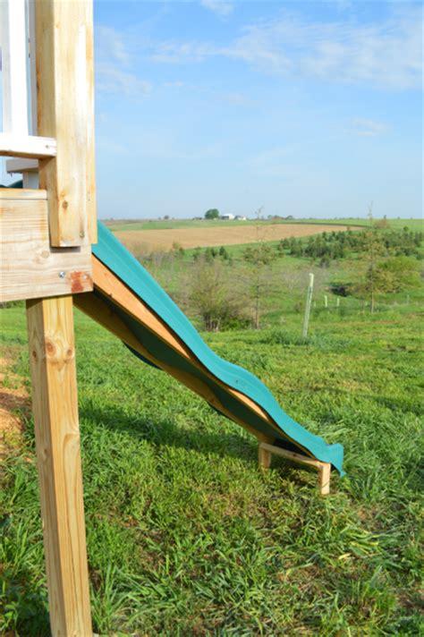 Creating A Slide On A Deck Platform Newlywoodwards