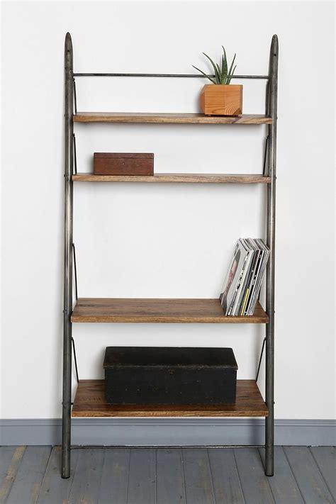 leaning wall shelf 4040 locust leaning bookshelf shelves outfitters