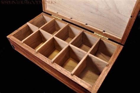 Custom Walnut Spice Box by 50Splinters Woodworks