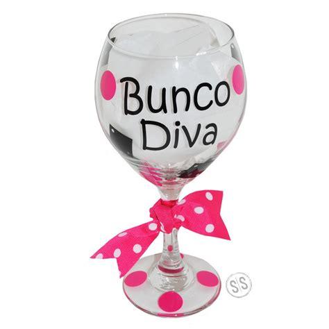 Bunco  Wine Glass
