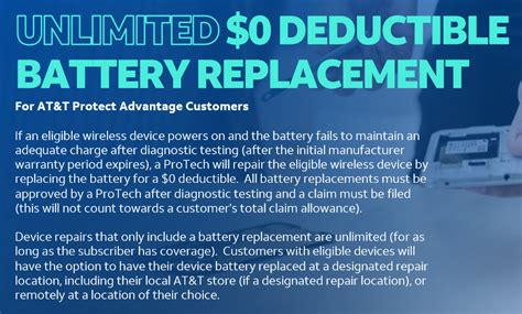 Low deductible auto insurance how much can you save by raising your auto insurance deductible? Protect Advantage battery replacement is Unlimited. | AT&T Business Wireless Consultant Curtis ...