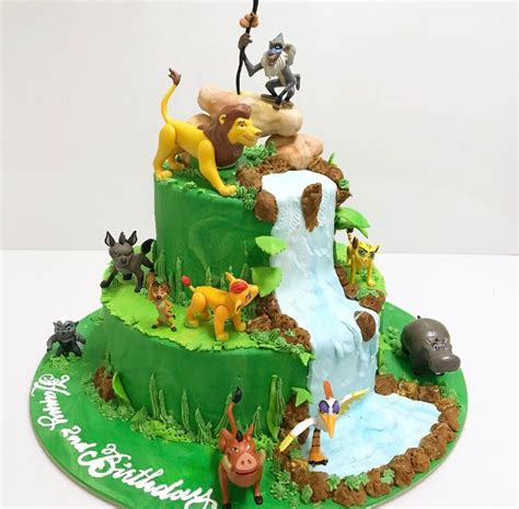 lion guard animals birthday cakes decorated cakes