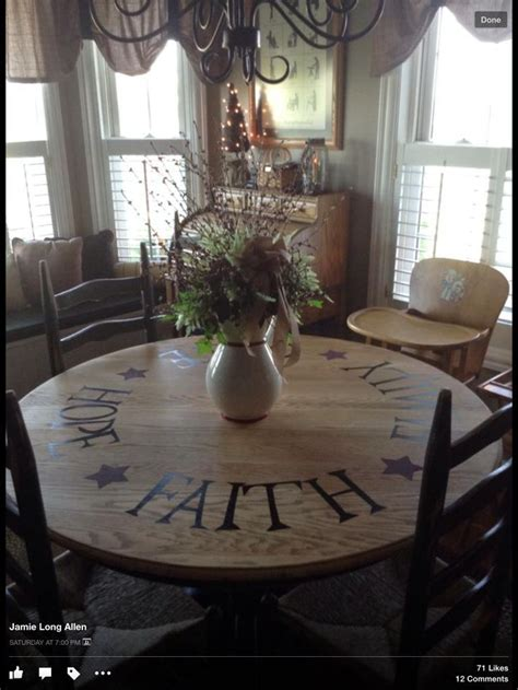 kitchen stencils designs pictures of primitive stenciled tables stenciled dining 3106