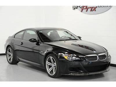 Sell Used 2007 Bmw M6 Coupe 2d Cpo Warranty 500 Hp Carbon