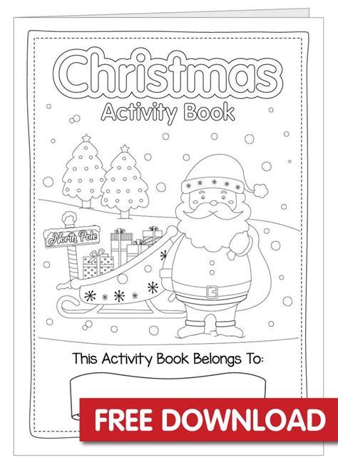 christmas activity book printable christmas