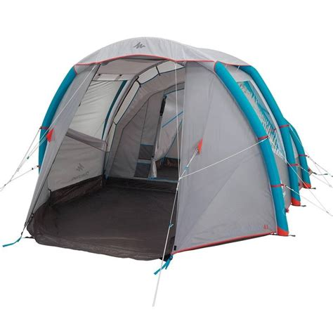 tente 6 personnes 3 chambres air seconds family 4 1 xl decathlon