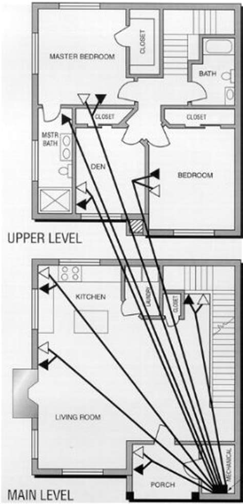 Wiring Diagram For Two Story House by Applications Telecommunications Communications Wiring