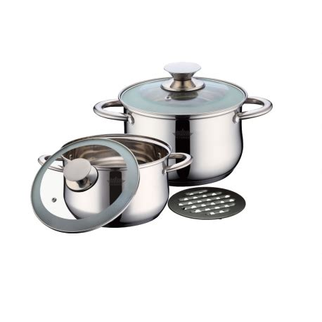cookware 5pcs stainless steel